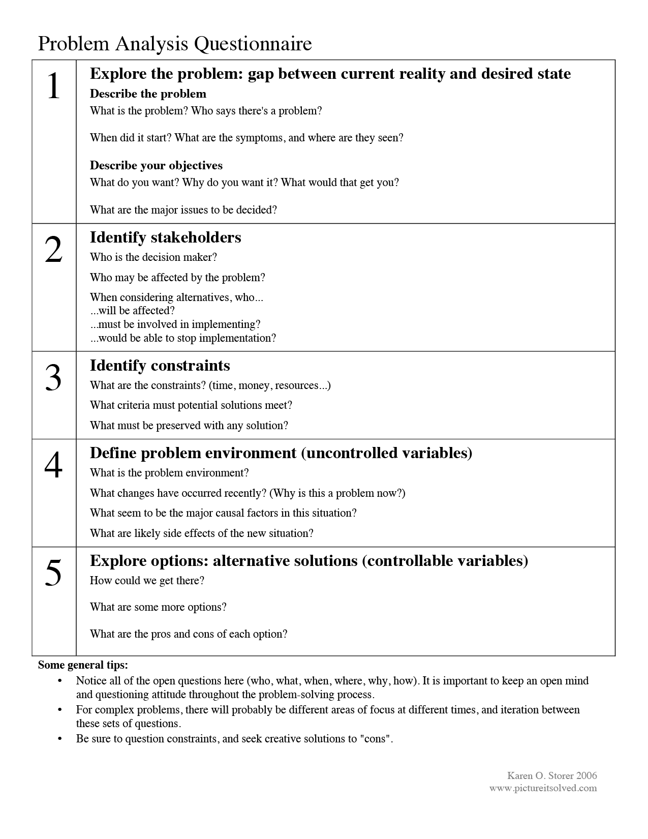 Problem solving basics – Social Problem Solving Worksheets